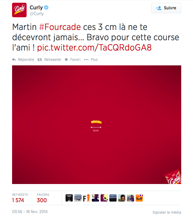 15 Curly Martin Fourcade Le Top Topical ou le real time advertising