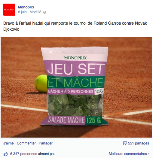 17 Monoprix Nadal Le Top Topical ou le real time advertising