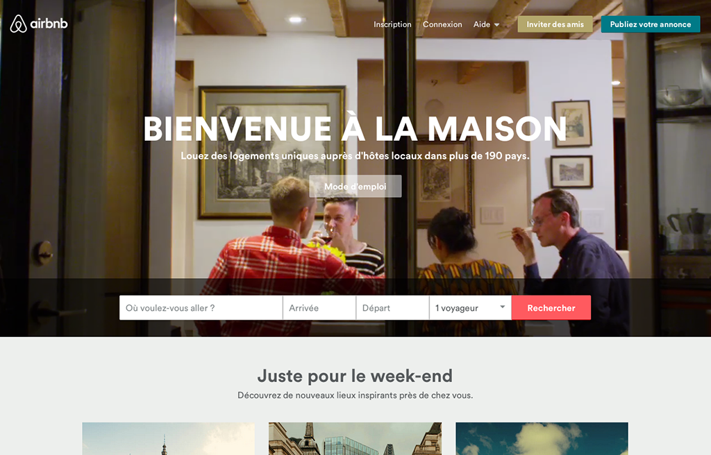 AirBnB Le design émotionnel